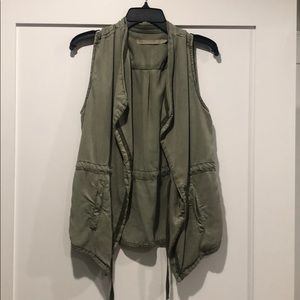 Army green Max Jeans Vest